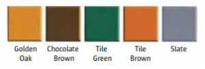 CANOPY TILE COLOUR OPTIONS From FCDHomeImprovements.co.uk