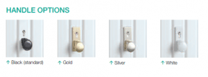 Up and Over Garage Handle Options from FCDHomeImprovements.co.uk
