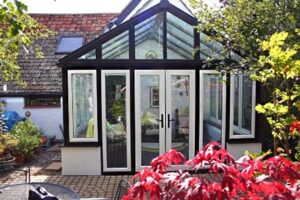 Looking for space and graduar? A Gable conservatory will add both in abundance.