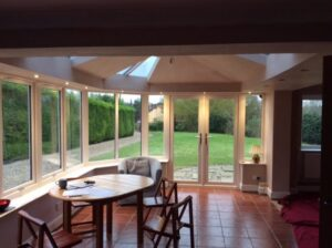 Conservatory conversion after internal