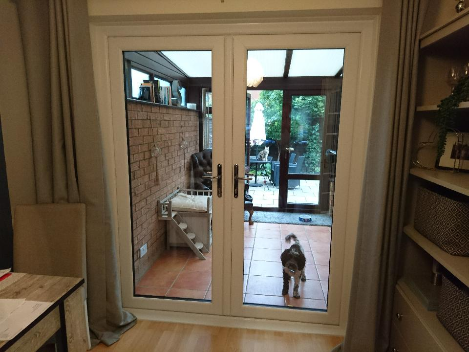 French Doors Stowmarket – Pooch not included!